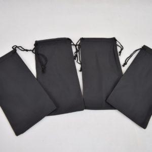 pochette noire pour lunette de vue ou de soleil